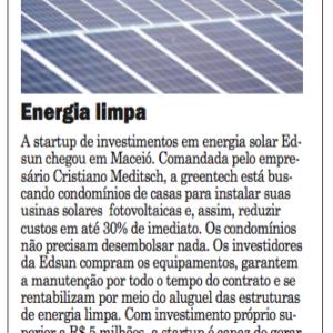 06_11 - Jornal Extra - Maceió - Online - Edsun - Destaque