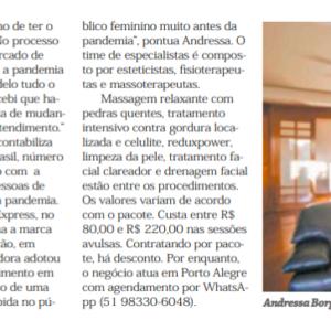 26_11 - Jornal do Comércio - Geração E - Impresso - SPA Express - Destaque
