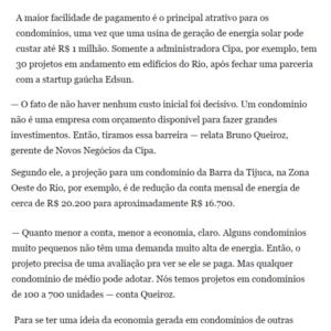 31_01- Edsun - O Globo - Online 1