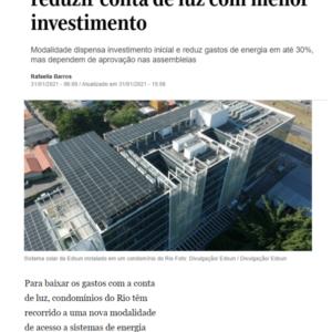 31_01- Edsun - O Globo - Online